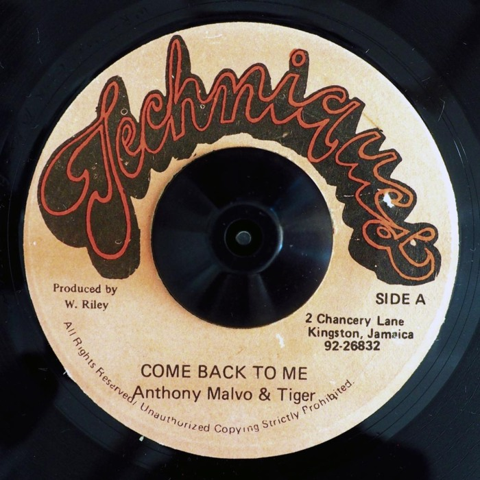 Jamaica Dancehall Music Blog 13thStreetPromo 13thStreetPromotions Come Back To Me Anthony Malvo Tiger Deejay Caribbean Babyface Two Occasions