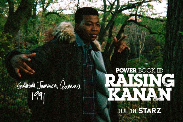 Power Book III: Raising Kanan Poster 13thStreetPromotions.com @13thStreetPromo