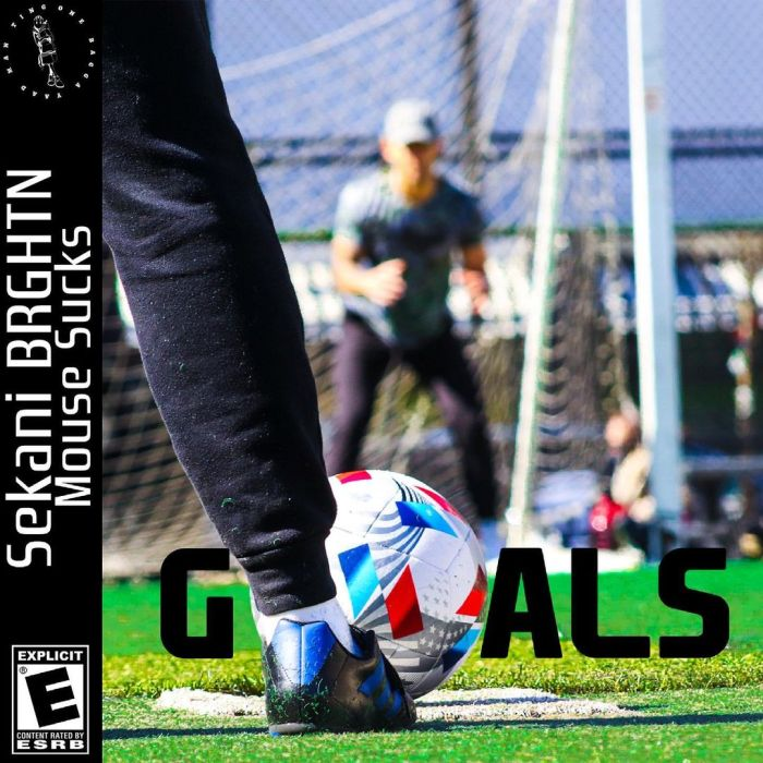 """Sekani BRGHTN & Mouse Sucks team up for the single, """"GOALS""""."""