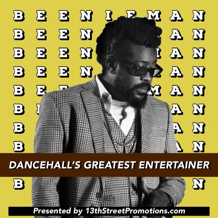 New Beenie Man Playlist on 13thStreetPromotions.com Jamaica