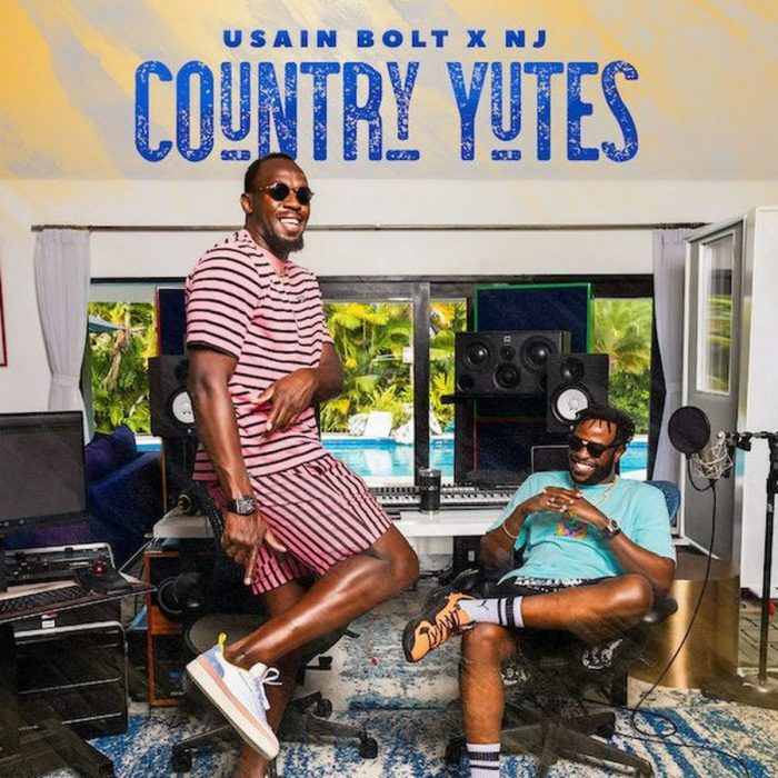 """Usain Bolt and NJ release the """"Country Yutes"""" album on 13thStreetPromotions.com #Jamaica #UsainBolt"""