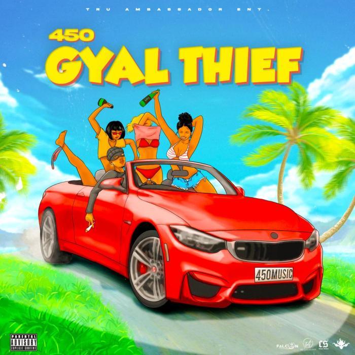"450 ""Gyal Thief"" for 13thStreetPromotions.com #Jamaica #Dancehall #Music #450Music"