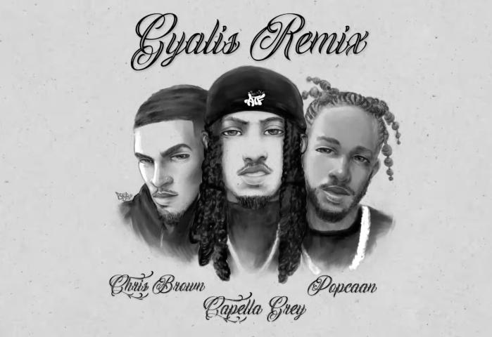 "Capella Grey x Popcaan x Chris Brown - ""Gyalis (Remix)"" on 13thStreetPromotions.com"