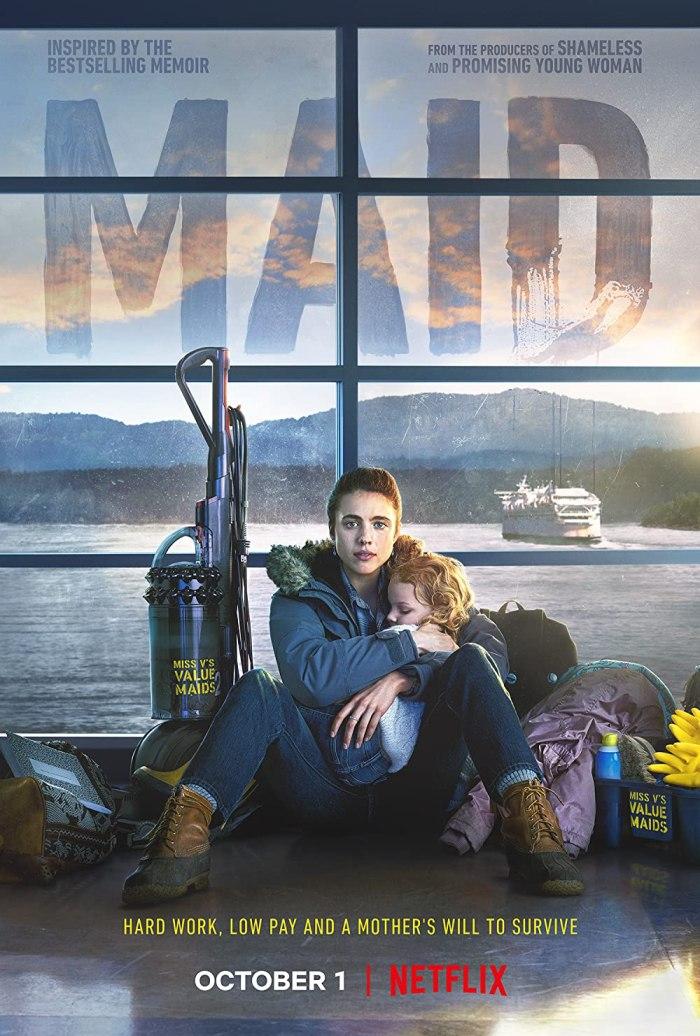 """""""Maid"""" Netflix series on 13thStreetPromotions.com"""
